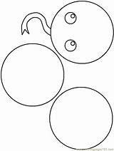 Coloring Circle Circles Colouring Clipart Sheets Comments Library sketch template