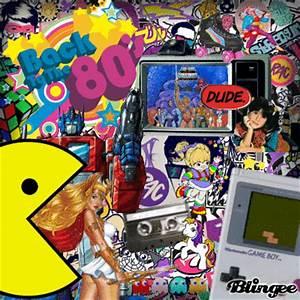 Retro 80's Collage Picture #125114883 | Blingee.com