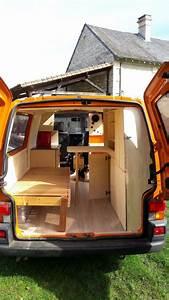 Volkswagen Transporter Aménagé : fourgon amenage volkswagen t4 camping in vans pinterest vans van life and camping ~ Medecine-chirurgie-esthetiques.com Avis de Voitures
