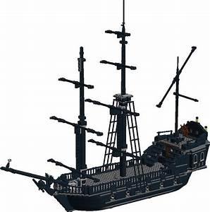 LDD MOC: Black Pearl by Murdoch17 | Pirate LEGO