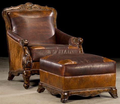 western rustic luxury hair hide chair
