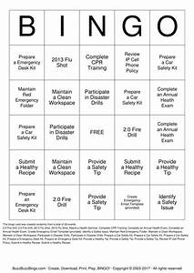 Safety, Bingo, Cards, To, Download, Print, And, Customize