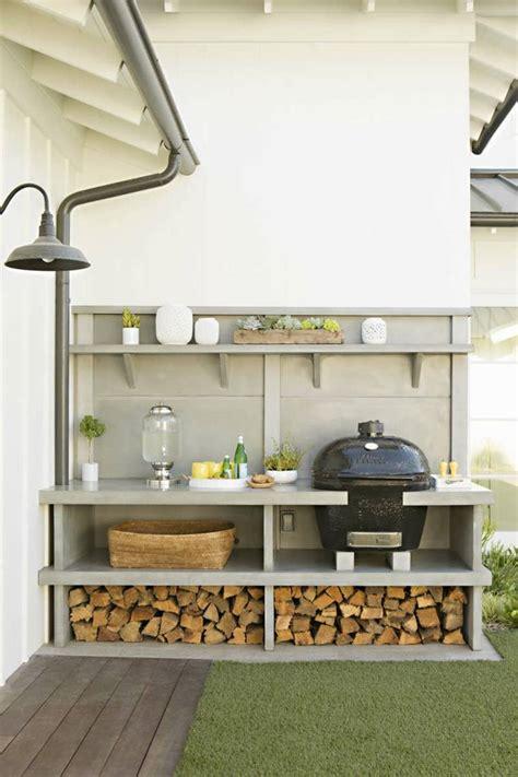 idee amenagement cuisine d ete barbecue moderne et idées de cuisine extérieure pour l 39 été