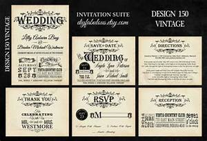 design 150 vintage wedding invitation shabby chic wedding With average cost for 150 wedding invitations
