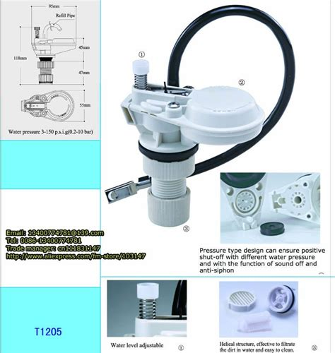 Anti Siphon Faucet Not Working by Anti Siphon Inlet Valve Toilet Tank Fill Valve In Filling