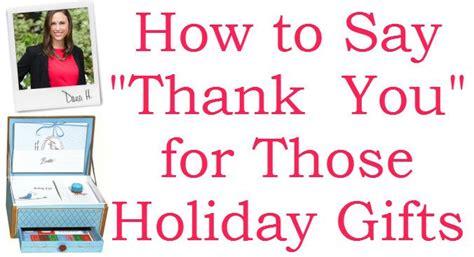 how to say thank you christmas edition