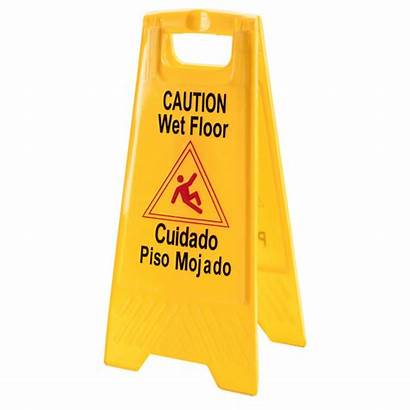 Wet Floor Sign Caution Warning Signs Yellow