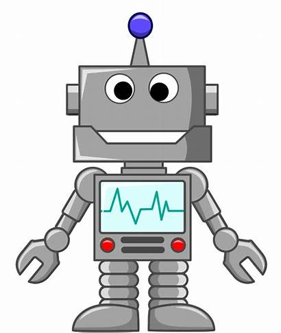 Birthday Robot Clipart Direction Cartoon Funny Cliparting