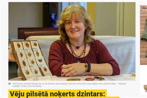 Jauns.lv: Rokdarbu meistare Ilze Vainovska rada unikālus ...