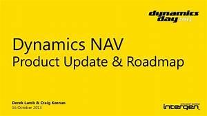 Dynamics Day 2013 Microsoft Dynamics NAV Product Update ...