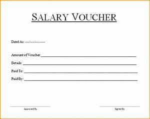 8+ cash salary voucher format Salary Paper Format