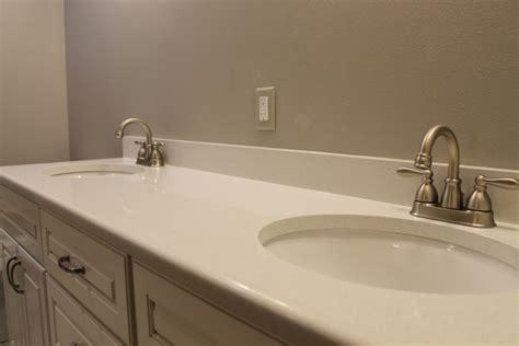 Quartz Bathroom Countertops With Sink Quartz Bathroom Countertop Color White Custom