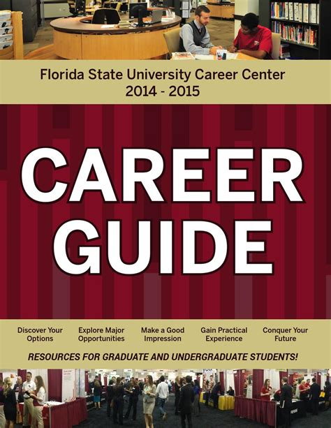 Resume Career Center Fsu by Fsu Career Guide 2014 2015 By Florida State Career Center Issuu