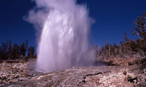Steamboat Geyser by Steamboat Geyser Yellowstone National Park Alltrips