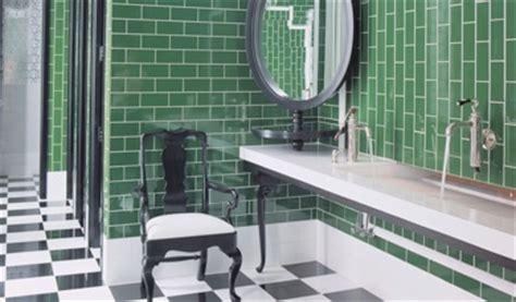 Green Bathroom Backsplash by Green Subway Tile Backsplash Eclectic Bathroom