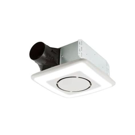 bathroom fan with led light nutone invent series 110 cfm ceiling exhaust bath fan with