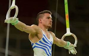 Petrounias Qualifies First for Rings Final (video ...