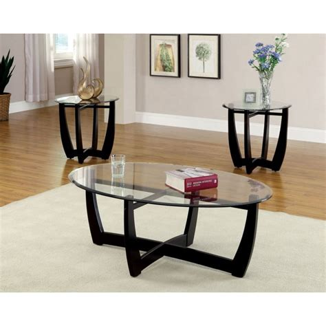 Shop allmodern for modern and contemporary black coffee tables to match your style and budget. Furniture of America Tesha Contemporary 3-Piece Coffee ...