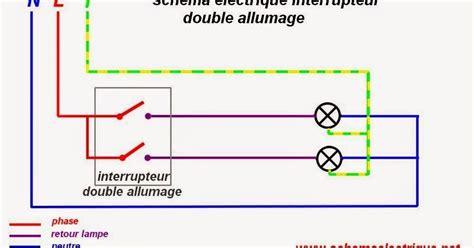 schema de commande eclairage sch 233 ma 233 lectrique interrupteur allumage