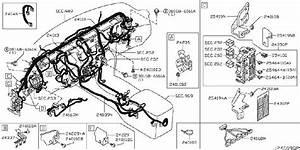 Infiniti M37 Harness Sub  Luggage Room Lamp  Lsedan  Body