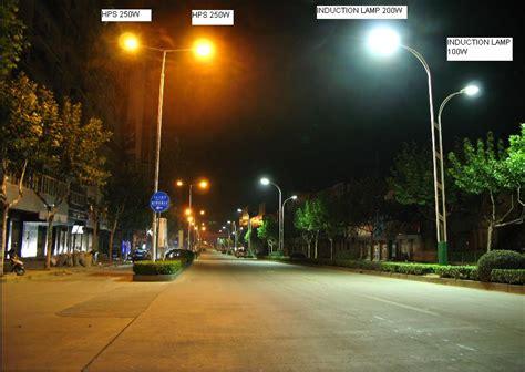 high pressure sodium lights vs led lack of street lights on freeways houses public schools