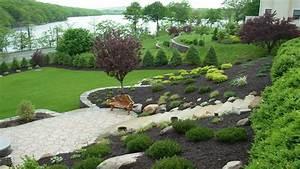 Amazing Designing gardens on slopes slope landscaping