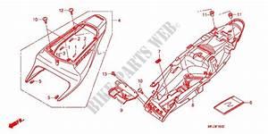 Seat  Rear Cowl For Honda Cbr 600 Rr 2008   Honda