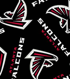 Atlanta Falcons NFL Fleece Fabric Jo-Ann