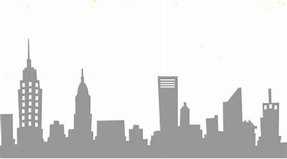 Skyline Gotham Drawing Clip Simple Transparent Cartoon