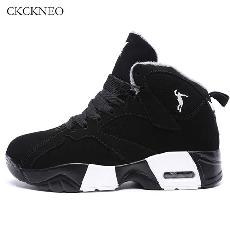 winter mens basketball shoes male ankle boots couple