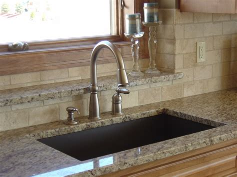 granite countertop with sink brown granite sink with giallo ornamental granite