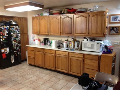 poor kitchen design dated kitchen with poor layout gets a update do you 1574