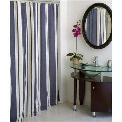 blue vertical striped curtains regatta striped shower curtain garnet hill