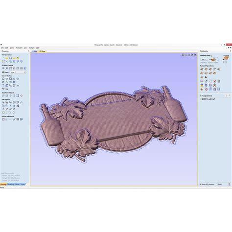 vcarve pro  software  cnc rockler woodworking