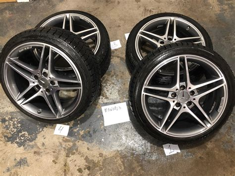 Run flat vs regular car tires, which is better for your car. W204 Mercedes Benz Wheels AMG & Blizzak LM60 Run Flat Winter Tires 235/40/18 - MBWorld.org Forums