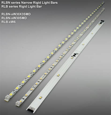rlb x6 di series rigid light bar pcb light bars rigid