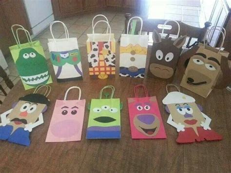 Toy Story Party Bag Template by 11 Toy Story Inspired Party Favor Bags