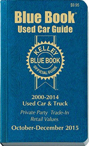kelley blue book used cars value trade 1992 ford aerostar user handbook kelley blue book used car guide consumer edition october december 2015 buy online in uae