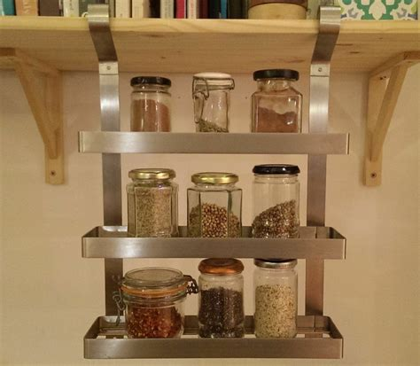 Ikea Spice Racks For Sale by Classic Grundtal By Ikea Stainless Steel Hanging Spice