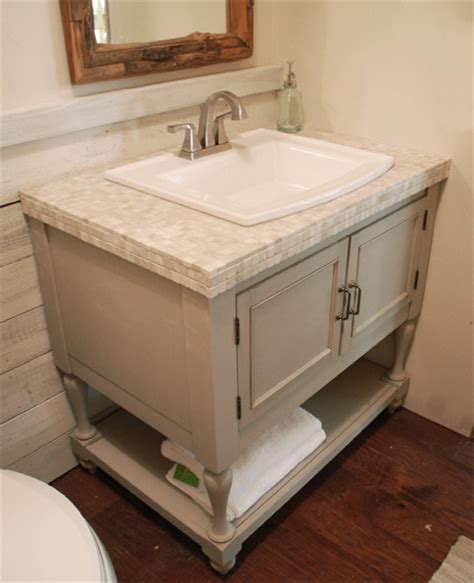 home dzine bathrooms   vintage bathroom vanity