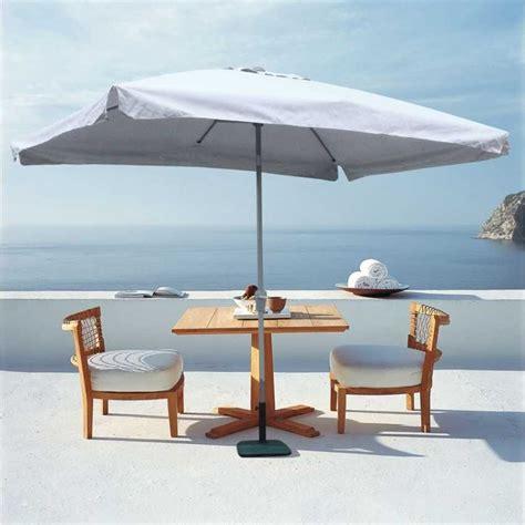 ombrelloni da terrazza ombrelloni con meccanismo facilitato giardino terrazza