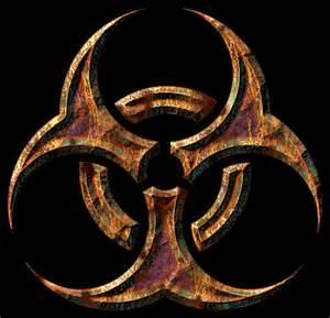 Biohazard Symbol Banners