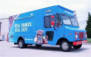 freal Food Truck Wrap