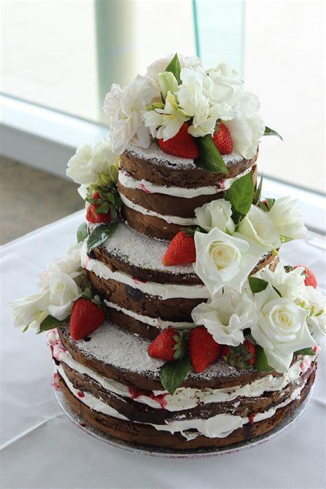 latest wedding cake trends melbourne naked  semi naked