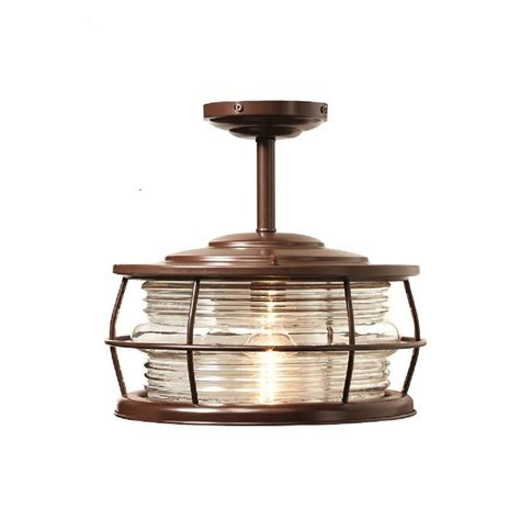 home depot outdoor hanging lights home decorators collection harbor 1 light copper outdoor