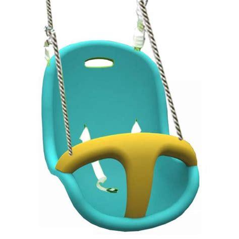 siege balancoire bebe siège bébé bleu et jaune achat vente balançoire