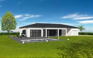 maison contemporaine plain pied terrasse couverte pergolas m 233 talmod 232 le maison contemporaine