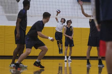 talented norwin boys volleyball  playing