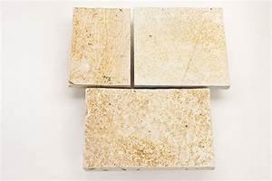 Terrassenplatten 2 Cm Stark : terrassenplatte aus naturstein gelb creme mediterran breite ca 30cm x freie l nge x ca 2 3cm ~ Frokenaadalensverden.com Haus und Dekorationen