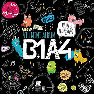 b1a4 album b1a4 jinyoung With love is a four letter word album cover